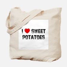 I * Sweet Potatoes Tote Bag