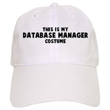 Database Manager costume Baseball Cap