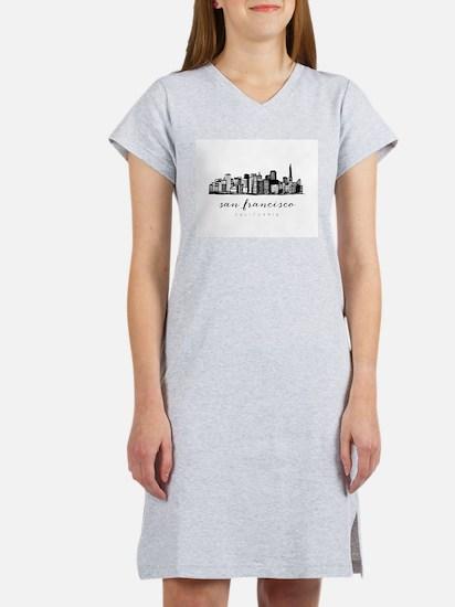 San Francisco Skyline Women's Nightshirt