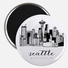 Seattle Skyline Magnets