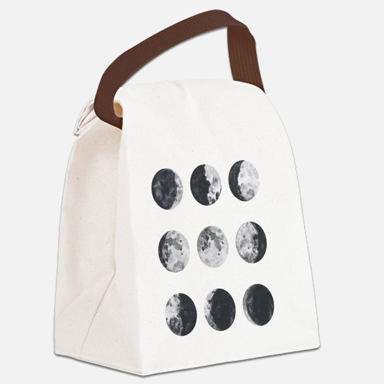 Cute Lunar Canvas Lunch Bag