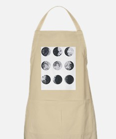 Cute Moon phases Apron