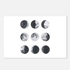 Moon Phases Postcards (Package of 8)