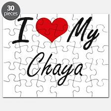 I love my Chaya Puzzle
