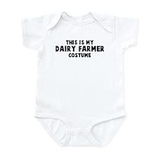 Dairy Farmer costume Infant Bodysuit