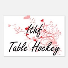 Ithf Table Hockey Artisti Postcards (Package of 8)