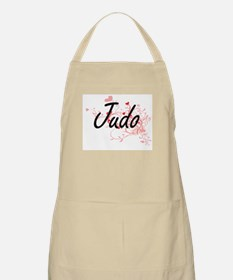 Judo Artistic Design with Hearts Apron