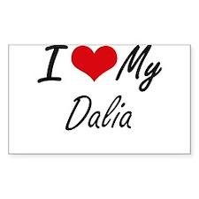 I love my Dalia Decal