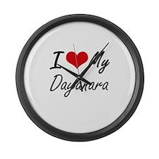 I love my Dayanara Large Wall Clock