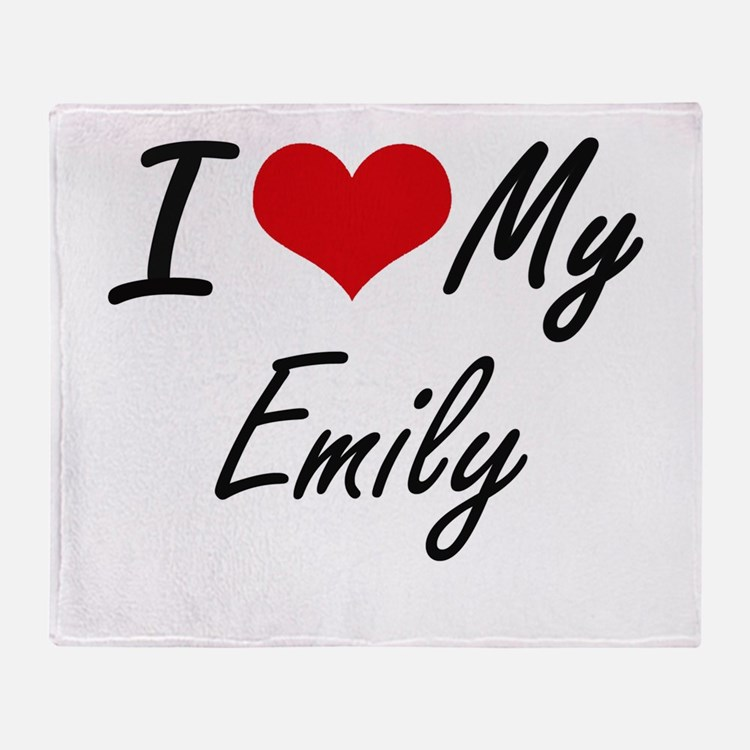 I love my Emily Throw Blanket