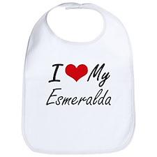 I love my Esmeralda Bib