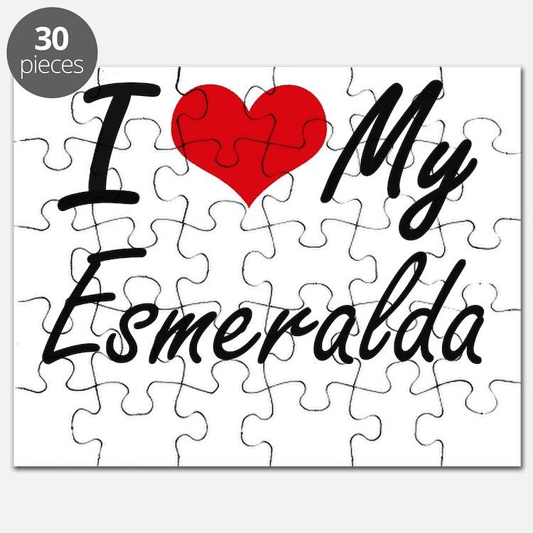 I love my Esmeralda Puzzle