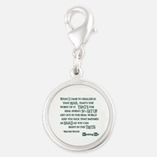 BREAKINGBAD WORST OF IT Silver Round Charm