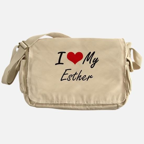 I love my Esther Messenger Bag
