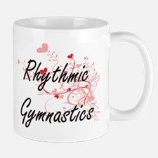 Rhythmic Gymnastics Artistic Design with Hear Mugs