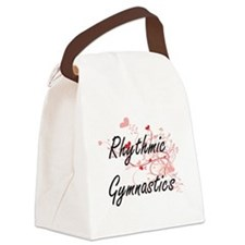 Rhythmic Gymnastics Artistic Desi Canvas Lunch Bag