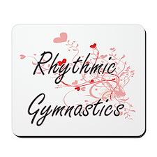 Rhythmic Gymnastics Artistic Design with Mousepad