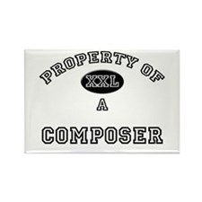 Property of a Composer Rectangle Magnet