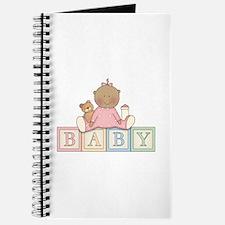 Baby Blocks Girl Ethnic Journal