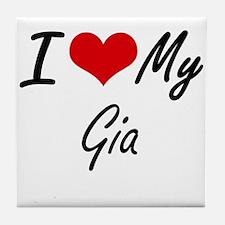 I love my Gia Tile Coaster