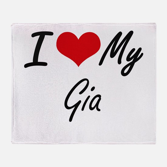 I love my Gia Throw Blanket