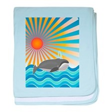 Whale of a Good Time baby blanket