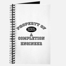 Property of a Completion Engineer Journal