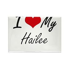 I love my Hailee Magnets