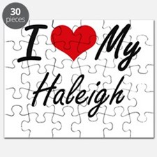 I love my Haleigh Puzzle