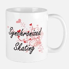 Synchronized Skating Artistic Design with Hea Mugs