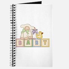 Baby Blocks Lamb Journal
