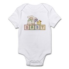 Baby Blocks Lamb Infant Bodysuit