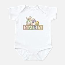 Baby Blocks Lamb Infant Bodysuit