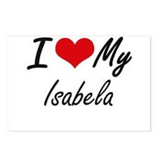I love my Isabela Postcards (Package of 8)