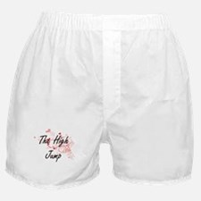The High Jump Artistic Design with He Boxer Shorts