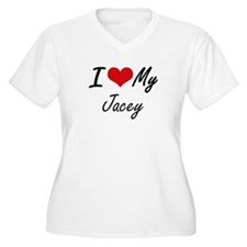 I love my Jacey Plus Size T-Shirt