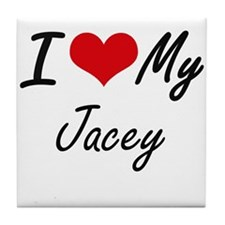 I love my Jacey Tile Coaster