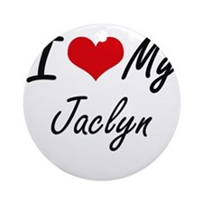 I love my Jaclyn Round Ornament