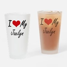 Funny Jaelyn Drinking Glass
