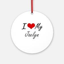 I love my Jaelyn Round Ornament