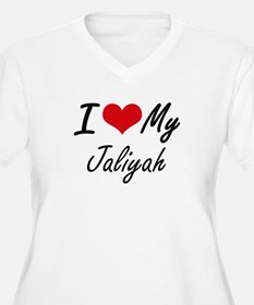 I love my Jaliyah Plus Size T-Shirt