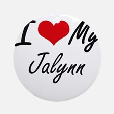 I love my Jalynn Round Ornament