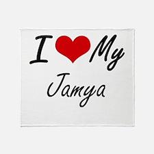 I love my Jamya Throw Blanket