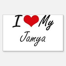 I love my Jamya Decal