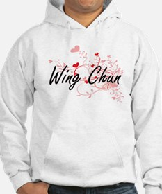 Wing Chun Artistic Design with H Hoodie
