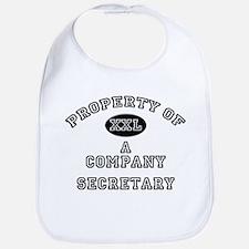 Property of a Company Secretary Bib