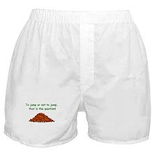 Autumn Leaf Question Boxer Shorts