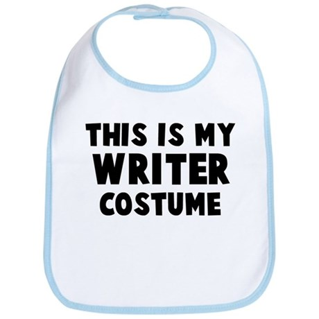 Writer costume Bib