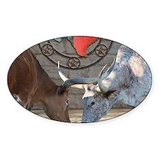 Texas Longhorns In Love Decal
