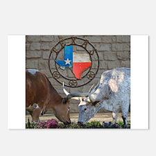 Texas Longhorns In Love Postcards (Package of 8)